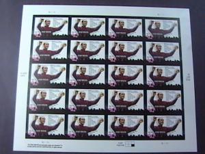 U.S.# 3839-MINT/NEVER HINGED---PANE OF 20---HENRY MANCINI/COMPOSER---2004