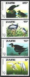 Kinshasa. 1985. 904-7. Odabon, birds, fauna. MNH.