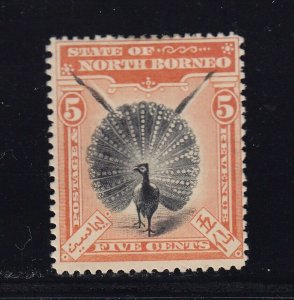 North Borneo Scott # 83 F-VF OG mint previously hinged cv $ 130 ! see pic !