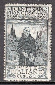 Italy - Scott #181a - Used - Crease/thin UL corner - SCV $20.00