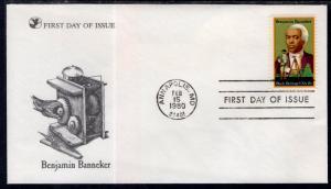 US 1804 Benjamin Banneker Readers Digest U/A FDC