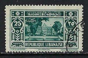 LEBANON 132 VFU S617