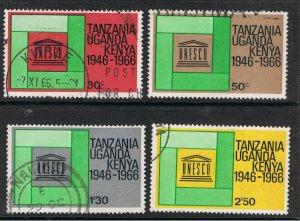 KENYA,UGANDA & TANZANIA 1966 U.N.E.S.C.O