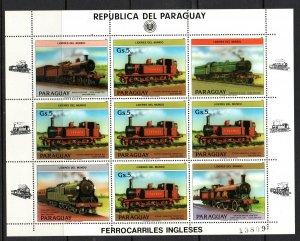 Paraguay 1984 Souvenir Sheet MNH #2125