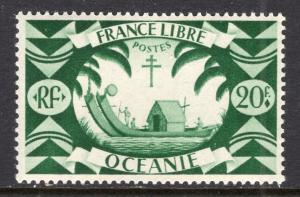French Polynesia 148 Boat MNH VF