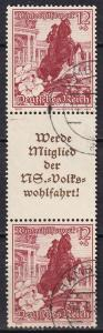 Germany Mi#S254  F-VF Used CV $50.00 (A19946)