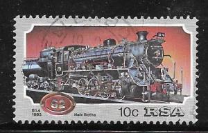 South Africa 614: 10c Krupp Locomotive System 080, used, VF