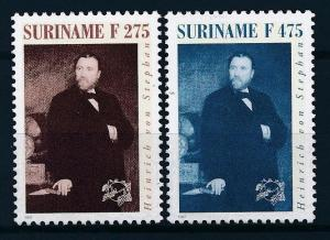 [SU 916] Suriname 1997 UPU Henrich von Stephan  MNH