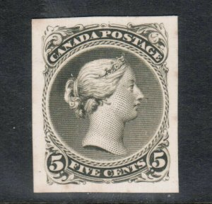 Canada #26P Extra Fine Plate Proof **With Certificate**