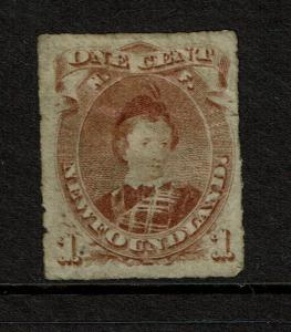 Newfoundland SG# 40, Mint Hinged, Hinge Remnant - Lot 071717