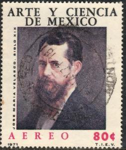 MEXICO C382, Art & Science Jose M Velasco picture. Used. (776)