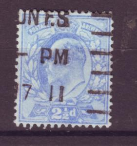 J17651 JLstamps 1902-11 great britain used #131 KEVII