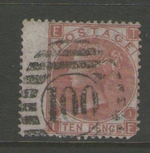 GB 1867 Queen Victoria SG 113  FU