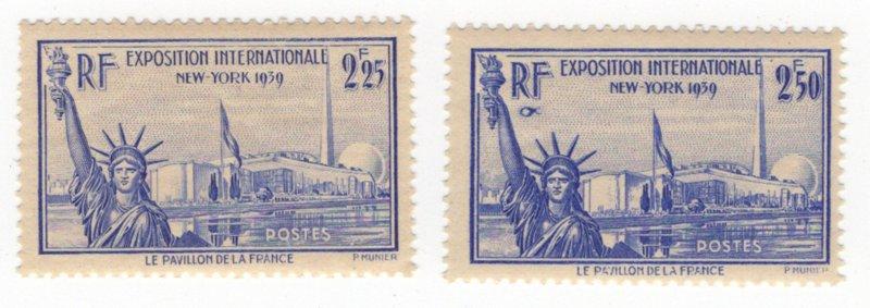 France 372, 373, MNH