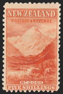 New Zealand Scott 88-98 Gibbons 260-270 Mint Set of Stamps