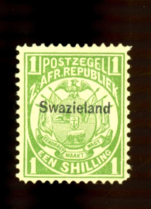 Swaziland #5 MINT F-VF OG LH Cat$16
