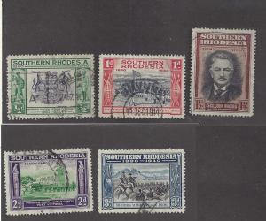 Southern Rhodesia 56-60, Used