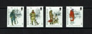 British Antarctic Territory:  1998  Antarctic Clothing  Mint set