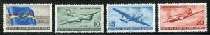 DDR #280-283 MNH CV$12.95