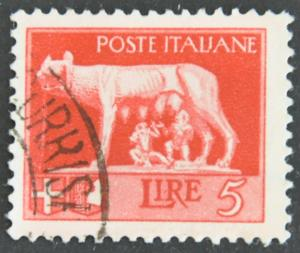 DYNAMITE Stamps: Italy Scott #227 – USED