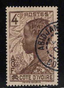 Ivory Coast Scott 115 Used stamp
