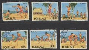 TOKELAU ISLANDS SG148/53 1987 OLYMPIC SPORTS FINE USED