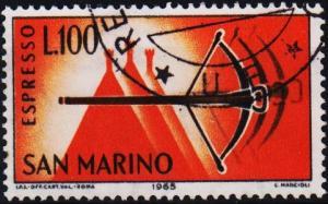 San Marino.1966 100L S.G.E802 Fine Used