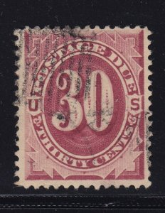J27 VF+ used neat cancel with nice color cv $ 225 ! see pic !