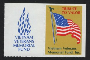 United States Pair of Vietnam Veterans Memorial Stamps -  BARNEYS