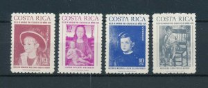 [104161] Costa Rica 1976 Postal tax children's village Christmas paintings  MNH