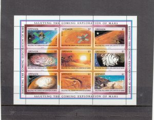 GRENADA 2002 SOUVENIR SHEET MNH 2019 SCOTT CATALOGUE VALUE $37.50
