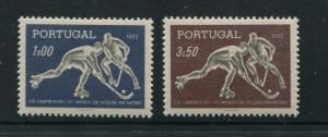 Portugal #749-50 Mint