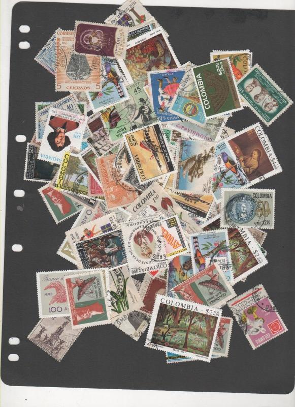 COLUMBIA STAMPS BETTER DEALER BOURSE  LOT 11 grams 240 1217