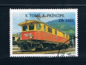 Saint Thomas and Prince Is 1204 Used Electric train engine (GI0378)+