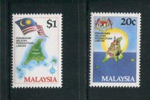 Malaysia #275-6 MNH
