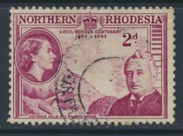 Northern Rhodesia  SG 56 SC# 56 Used / FU - Cecil Rhodes - see details