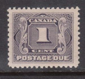 Canada #J1 XF/NH Gem