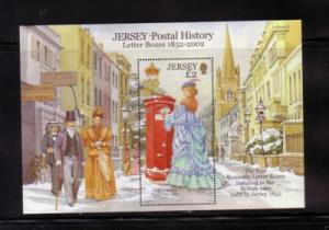 Jersey Sc 1062 2002 Letter Boxes stamp sheet mint NH
