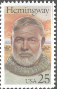 USA Scott 2418  MNH** Hemingway stamp