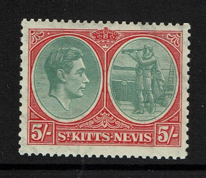 St. Kitts-Nevis SG# 77, Mint Very Lightly Hinged - Lot 082317