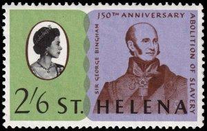 St. Helena - Scott 208 - Mint-Never-Hinged
