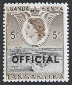 DYNAMITE Stamps: Tanganyika Scott #O1 – MINT