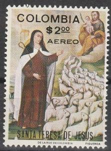 Colombia MNH C568 St. Theresa