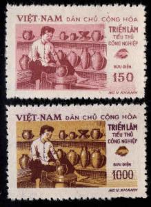 North Viet Nam Scott 73-74 Mint NGAI