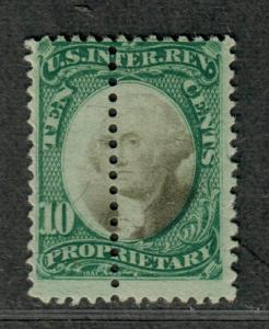 US Sc#RB7a Used/F, Misperf-Extra Row! Error, Cv. $300