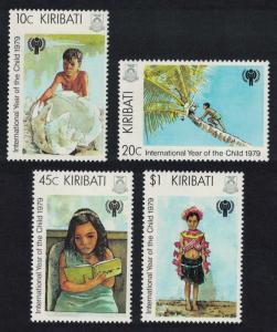 Kiribati International Year of the Child 4v SG#105-108 SC#345-348