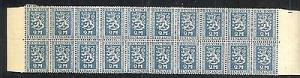 Finland #147 strip of 20  VF NH