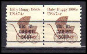 1902a Fine MNH Dry Gum Pair PreCnx CA0509