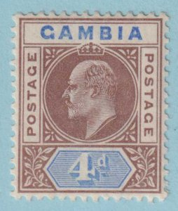 GAMBIA 33 MINT NEVER HINGED OG *  NO FAULTS EXTRA FINE