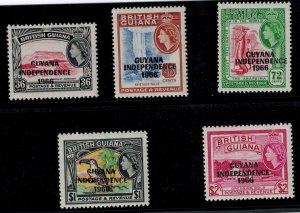 Guyana 32p-32t MNH VF